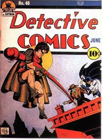 Detective Comics (DC, 1937 series) #40 (June 1940)