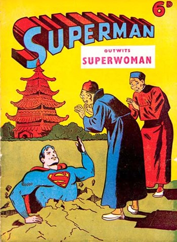 Outwits Superwoman