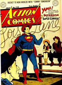 Action Comics (DC, 1938 series) #134 (July 1949)