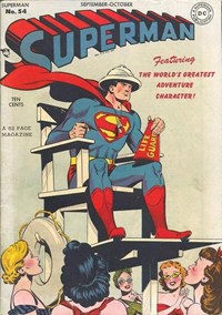 Superman (DC, 1939 series) #54 (September-October 1948)