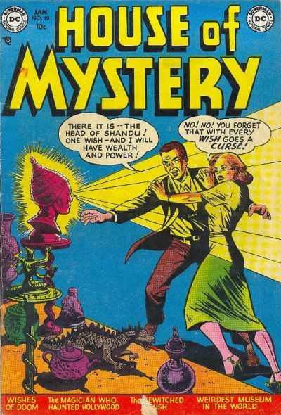 House of Mystery (DC, 1951 series) #10 (January 1953)