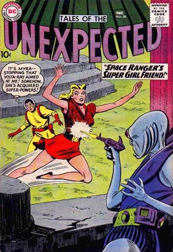 Tales of the Unexpected (DC, 1956 series) #56 (December 1960)