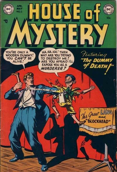 House of Mystery (DC, 1951 series) #3 (April-May 1952)