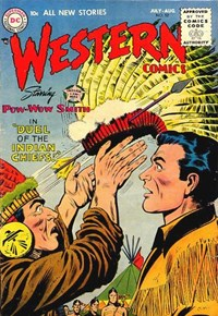 Western Comics (DC, 1948 series) #52 (July-August 1955)