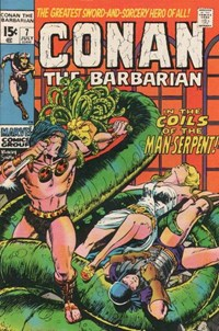 Conan the Barbarian (Marvel, 1970 series) #7 (July 1971)