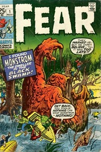 Fear (Marvel, 1970 series) #1 — I Found Monstrom, the Dweller in the Black Swamp!