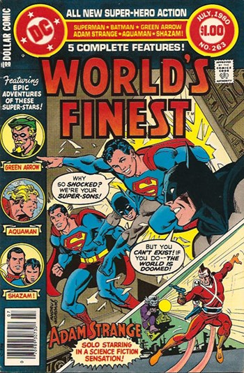 World's Finest Comics (DC, 1941 series) #263 (June-July 1980)