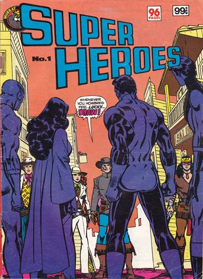 Super Heroes (Murray, 1982 series) #1 ([December 1982])