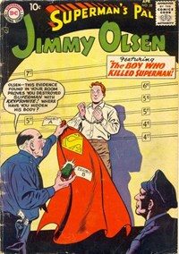 Superman's Pal, Jimmy Olsen (DC, 1954 series) #28 — The Boy Who Killed Superman!
