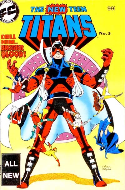 The New Teen Titans (Federal, 1983 series) #3 ([December 1983?])
