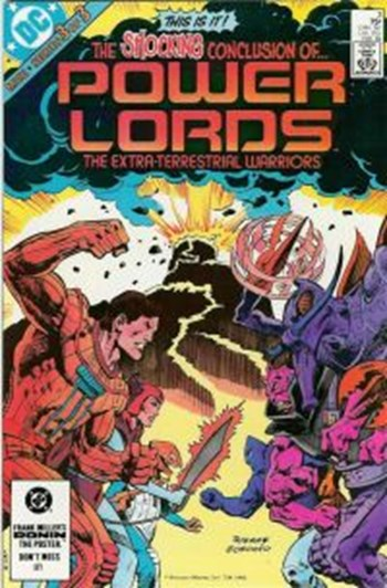 Power Lords (DC, 1 series) #3 (February 1984)