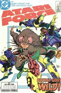 Atari Force (DC, 1984 series) #3 — Pakrat Goes Wild!