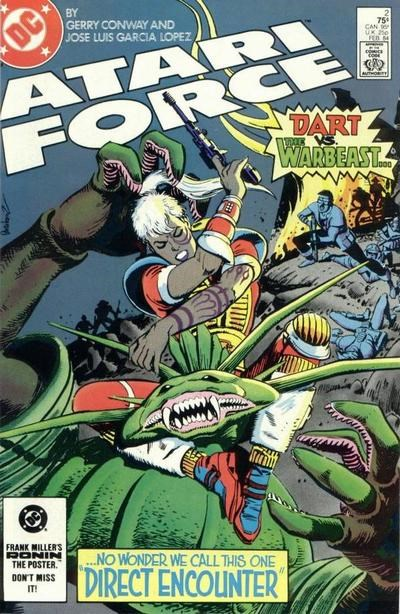 Atari Force (DC, 1984 series) #2 (February 1984)