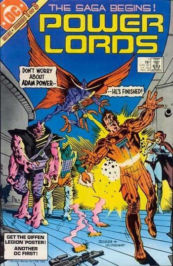 Power Lords (DC, 1 series) #1 (December 1983)