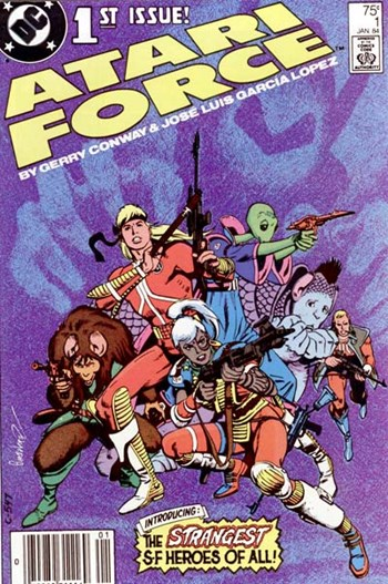 Atari Force (DC, 1984 series) #1 (January 1984)