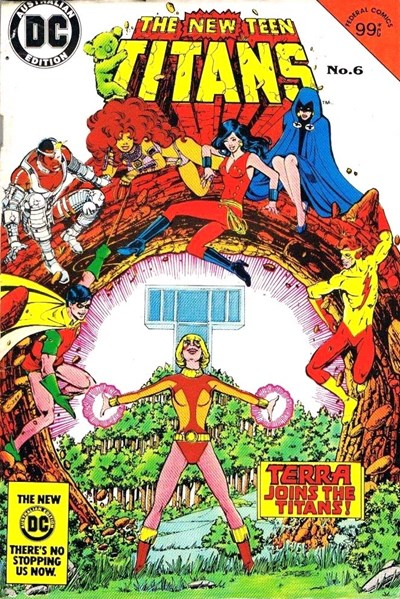 The New Teen Titans (Federal, 1983 series) #6 ([August 1984?])