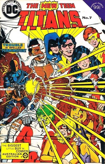 The New Teen Titans (Federal, 1983 series) #7 ([September 1984?])