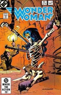 Wonder Woman (DC, 1942 series) #298 — Catacombs