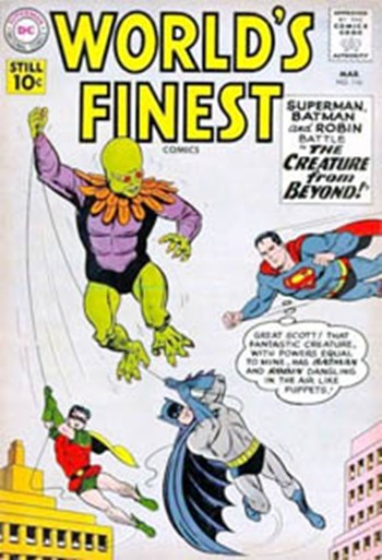 World's Finest Comics (DC, 1941 series) #116 (March 1961)