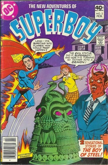 The New Adventures of Superboy (DC, 1980 series) #2 (February 1981)