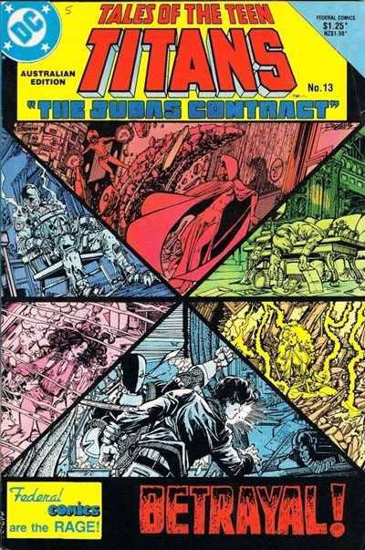 Tales of the Teen Titans (Federal, 1985 series) #13 ([March 1986?])