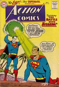 Action Comics (DC, 1938 series) #254 — The Battle with Bizarro!