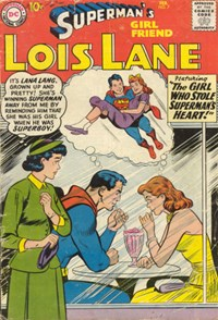Superman's Girl Friend, Lois Lane (DC, 1958 series) #7 — The Girl Who Stole Superman's Heart!
