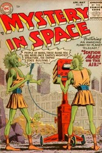 Mystery in Space (DC, 1951 series) #25 (April-May 1955)