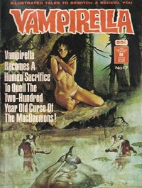 Vampirella (KG Murray, 1974 series) #17 —  Curse of the MacDaemons!