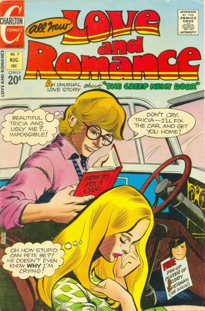 Love and Romance (Charlton, 1971 series) #7 (August 1972)
