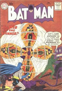 Batman (DC, 1940 series) #129 — The Web of the Spinner!