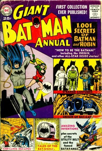 Batman Annual (DC, 1961 series) #1 (Summer 1961)