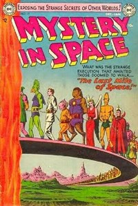 Mystery in Space (DC, 1951 series) #17 (December 1953-January 1954)