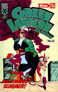 Green Lantern Album (Murray, 1978? series) #9 — Saga of the Millionaire Schemer