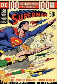 Superman (DC, 1939 series) #252 — The World's Greatest Flying Heroes!