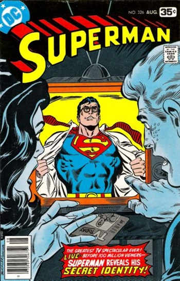 Superman Reveals His Secret Identity!