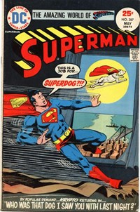 Superman (DC, 1939 series) #287 — Who Was That Dog I Saw You With Last Night?