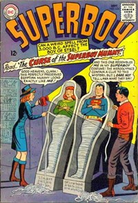Superboy (DC, 1949 series) #123 — The Curse of the Superboy Mummy!