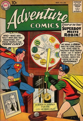 Adventure Comics (DC, 1938 series) #253