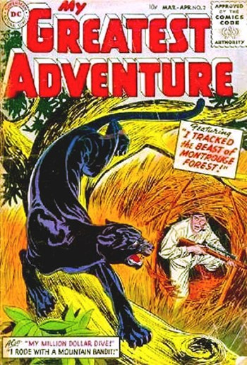 My Greatest Adventure (DC, 1955 series) #2 (March-April 1955)