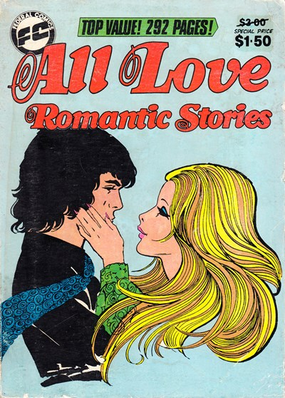 All Love Romantic Stories (Federal, 1983 series)  (May 1984)