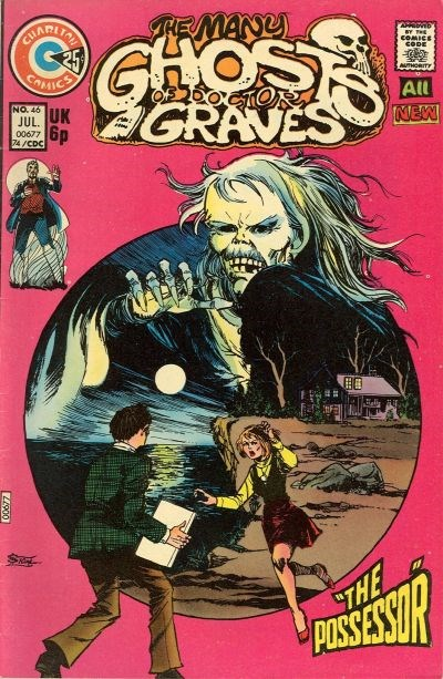 The Many Ghosts of Dr. Graves (Charlton, 1967 series) #46 (July 1974)