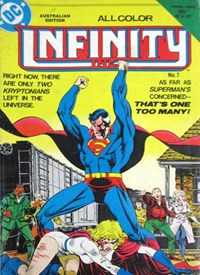 Infinity Inc. (Federal, 1984 series) #7 — Untitled