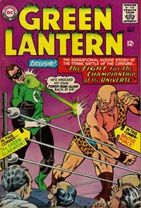 Green Lantern (DC, 1960 series) #39 — The Fight for the Championship of the Universe!