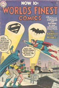 World's Finest Comics (DC, 1941 series) #74 — The Contest of Heroes!