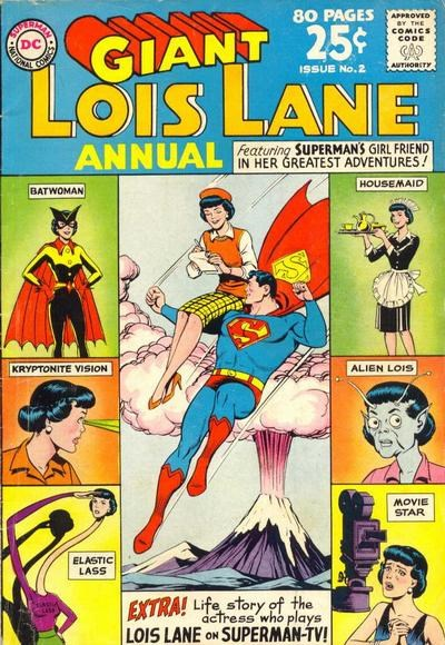 Lois Lane Annual (DC, 1962 series) #2 (Summer 1963)