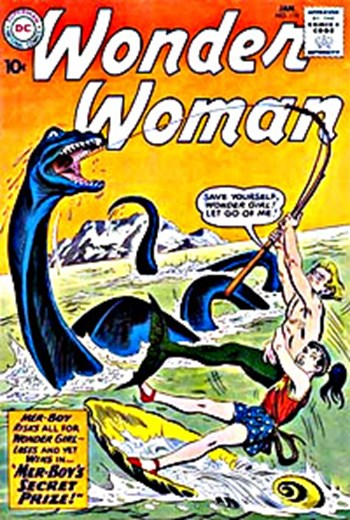 Wonder Woman (DC, 1942 series) #119 (January 1961)