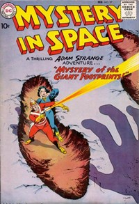 Mystery in Space (DC, 1951 series) #57 (February 1960)