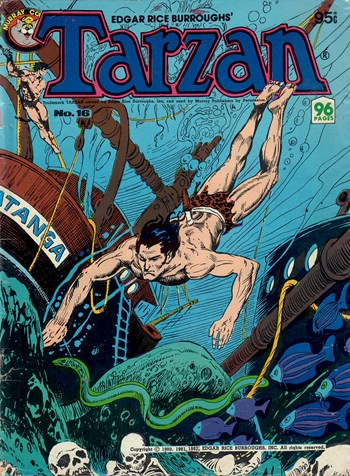 Edgar Rice Burroughs' Tarzan (Murray, 1980 series) #16  (July 1982)