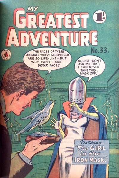 My Greatest Adventure (Colour Comics, 1955 series) #33 ([December 1957])